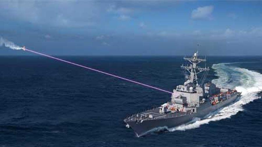 Vũ khí laser - hỏa lực phòng thủ tương lai gần của hải quân Mỹ