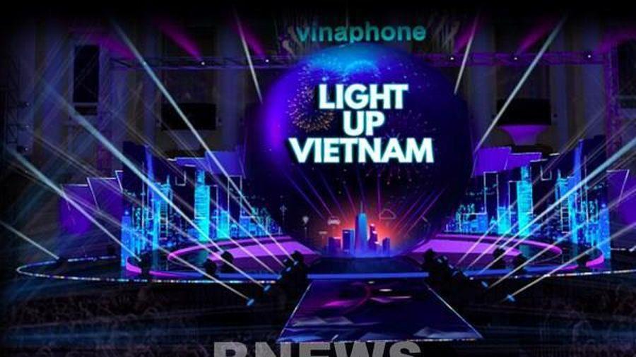 VinaPhone sẽ chào năm mới bằng nhạc hội ánh sáng