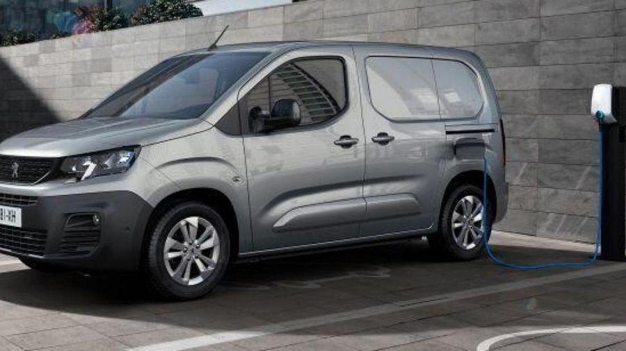 Peugeot ra mắt xe tải điện e-Partner, chạy tối đa 275km sau một lần sạc