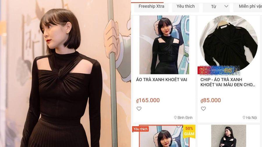 Áo 'trà xanh' của Hải Tú mặc bán đầy rẫy trên mạng, giá rẻ giật mình