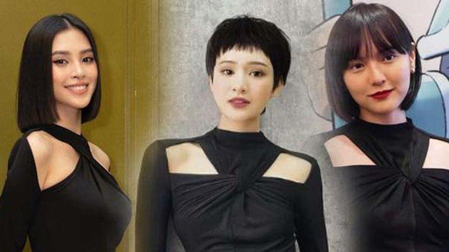 Màn 'đụng hàng' của 4 mỹ nhân Vbiz: Hoa hậu hay nàng thơ thắng thế?
