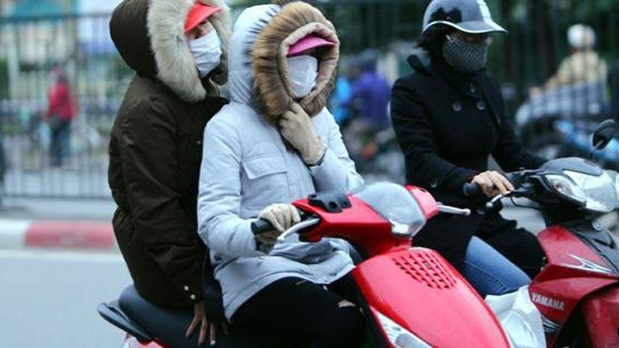 Các tỉnh miền Bắc đón đợt không khí lạnh mới, có nơi dưới 5 độ C