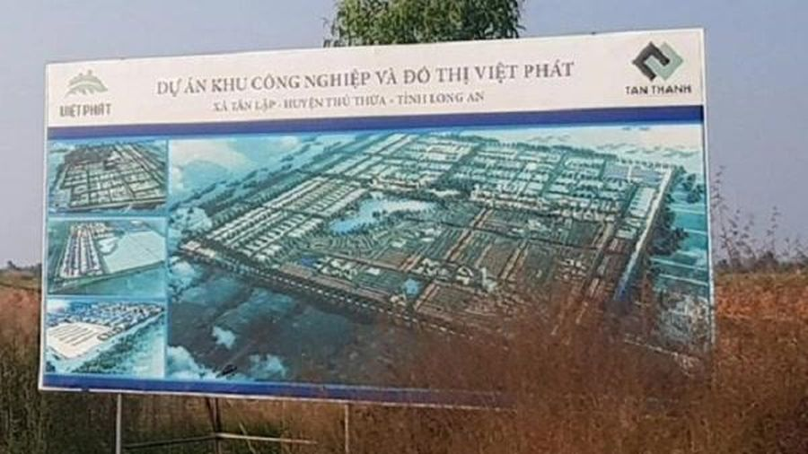 Long An chưa đồng ý cho giãn tiến độ dự án khu công nghiệp Việt Phát