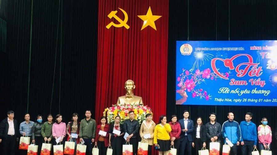 'Tết sum vầy - kết nối yêu thương' tại huyện Thiệu Hóa