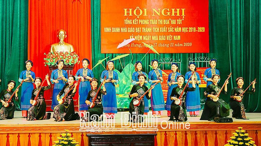 Nam Định: Phong trào văn hóa, văn nghệ trong các cơ quan, đơn vị, trường học ở Nghĩa Hưng