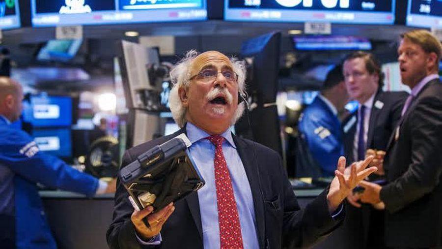 Chứng khoán Mỹ trượt khỏi đỉnh trong lúc đợi tuyên bố từ Fed