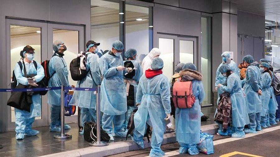 Nữ công nhân Hải Dương dương tính với biến chủng SARS-COV-2 khi nhập cảnh Nhật Bản