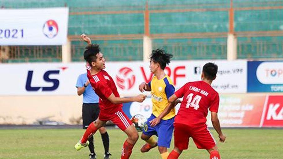 U19 Khánh Hòa san bằng điểm số với U19 Becamex Bình Dương