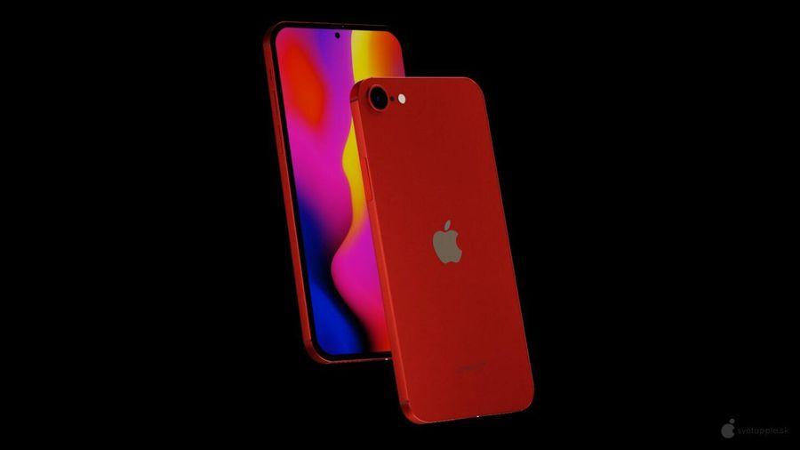 Đẹp quyến rũ concep iPhone SE 2021