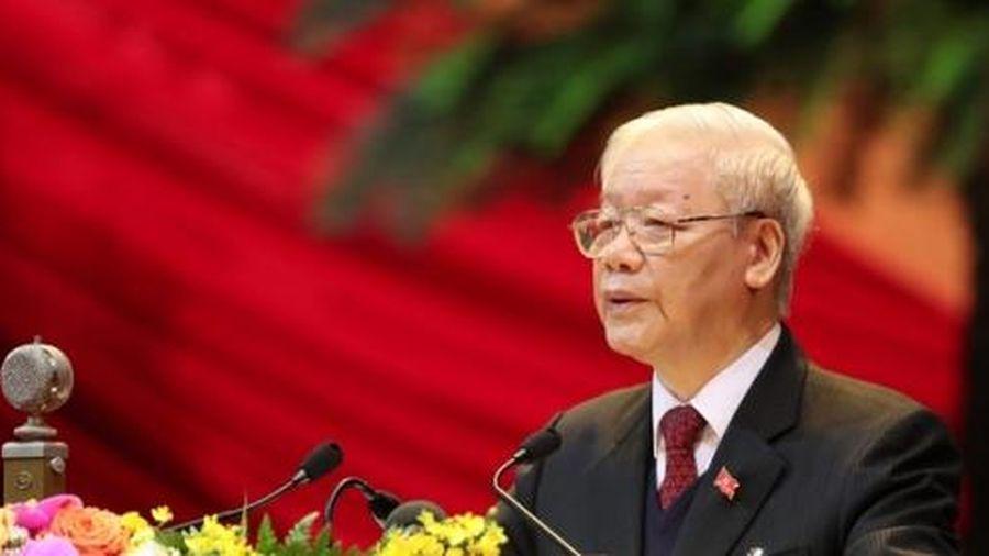 Tổng bí thư, Chủ tịch nước Nguyễn Phú Trọng được giới thiệu tái cử