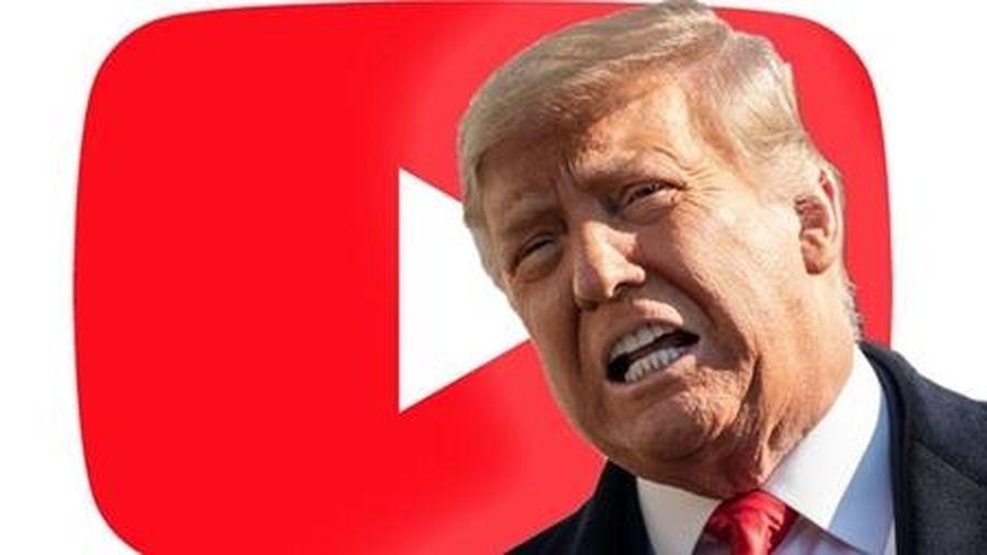 Youtube vẫn chưa mở khóa tài khoản cho ông Trump