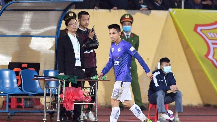 Hà Nội FC đón tin cực vui trước trận gặp Hải Phòng