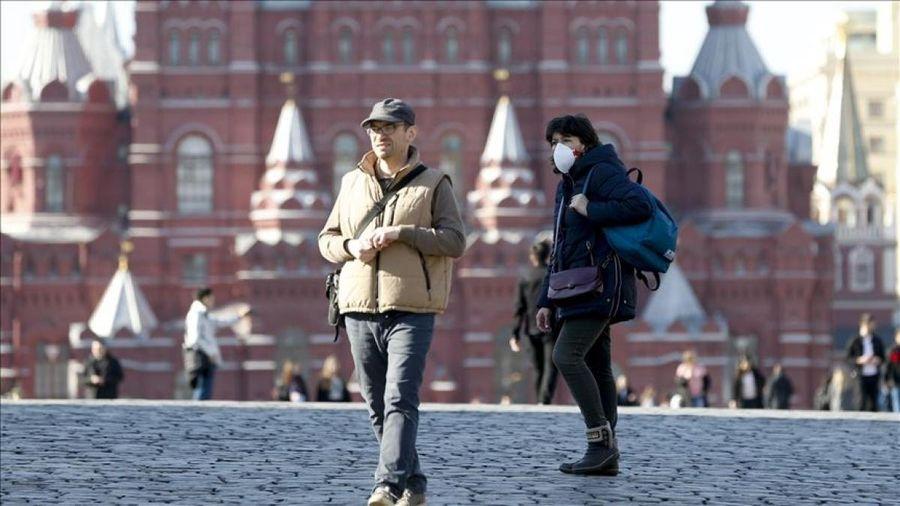 Moscow (Nga) nới lỏng các hạn chế do dịch Covid-19