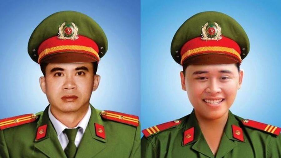Truy tặng bằng 'Tổ quốc ghi công' cho 2 cán bộ, chiến sĩ công an Đà Nẵng
