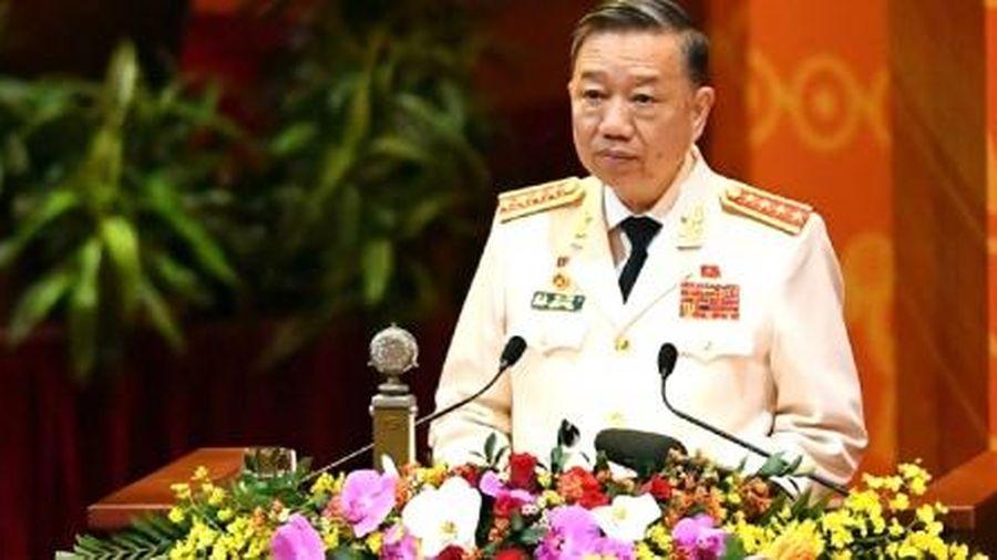 Bộ trưởng Tô Lâm nêu 3 thách thức lớn đe dọa trực tiếp đến sinh mệnh của Đảng