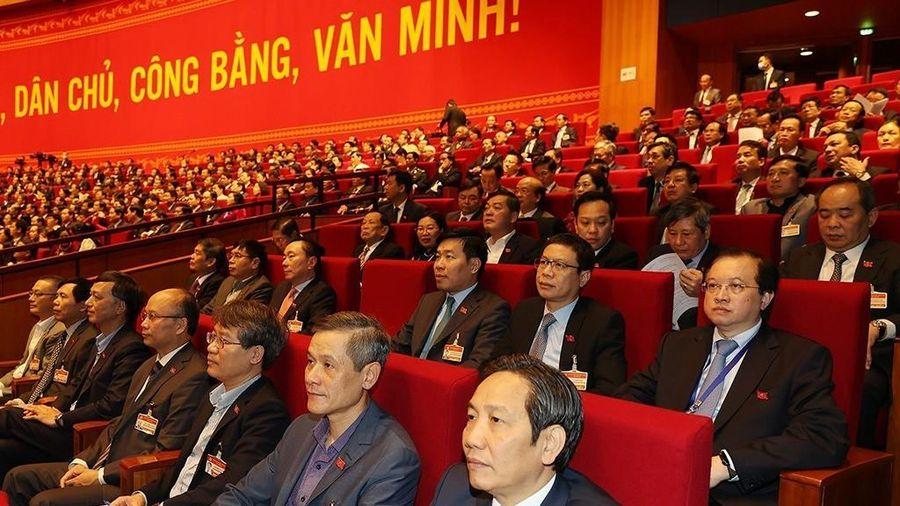 Thông qua số lượng Ban Chấp hành Trung ương XIII là 200 người
