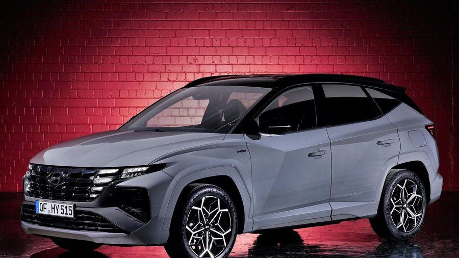 Hyundai Tucson N Line đời 2022 được ra mắt