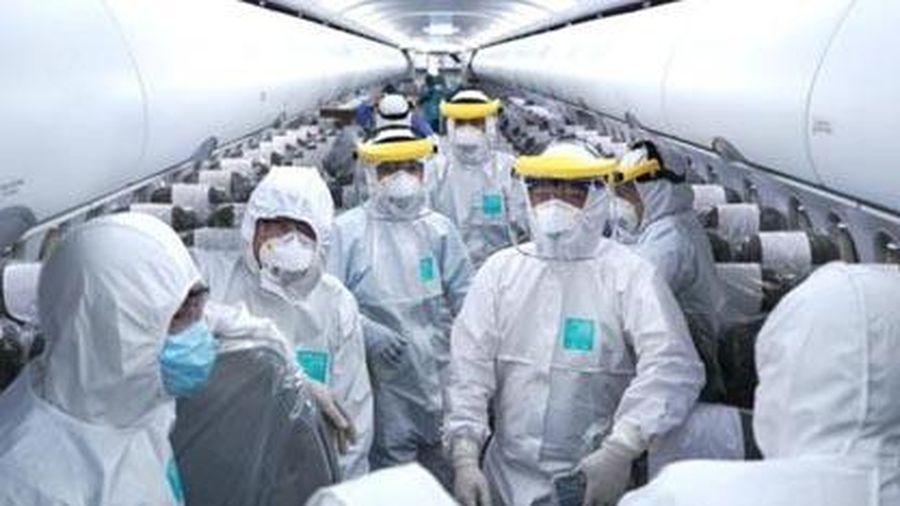 Hàng không thực hiện nghiêm các biện pháp ngăn ngừa dịch Covid-19