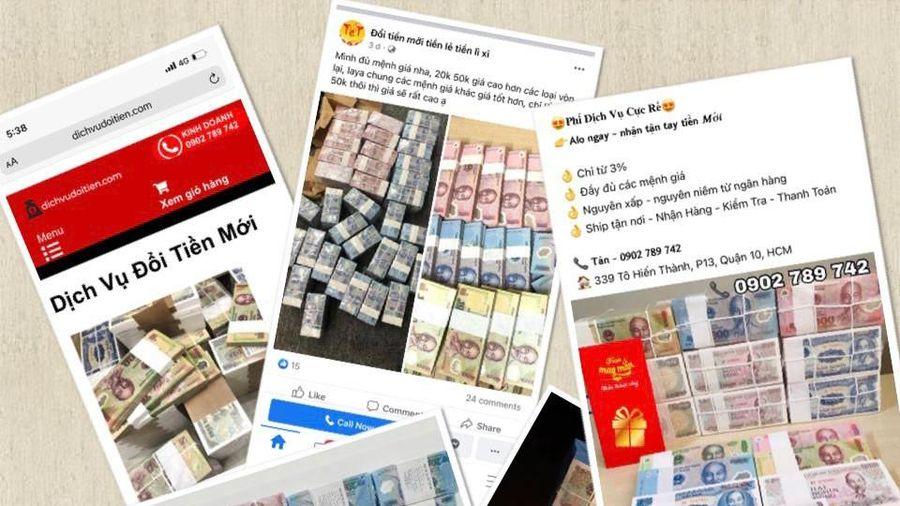 Phạt nặng hành vi đổi tiền lẻ, tiền mới kiếm lời
