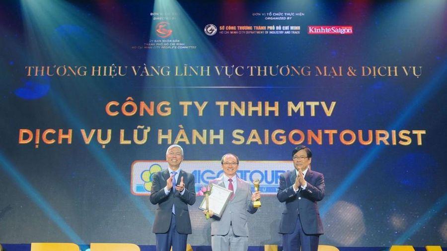 Lữ hành Saigontourist là thương hiệu vàng TPHCM vì thành quả xây dựng thương hiệu ấn tượng
