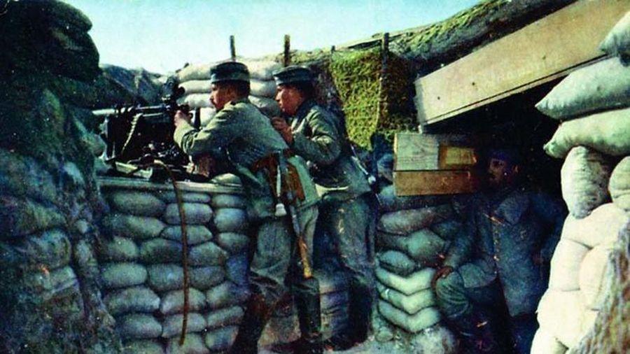 Ảnh hiếm lính Đức trên chiến trường Thế chiến 1 khốc liệt