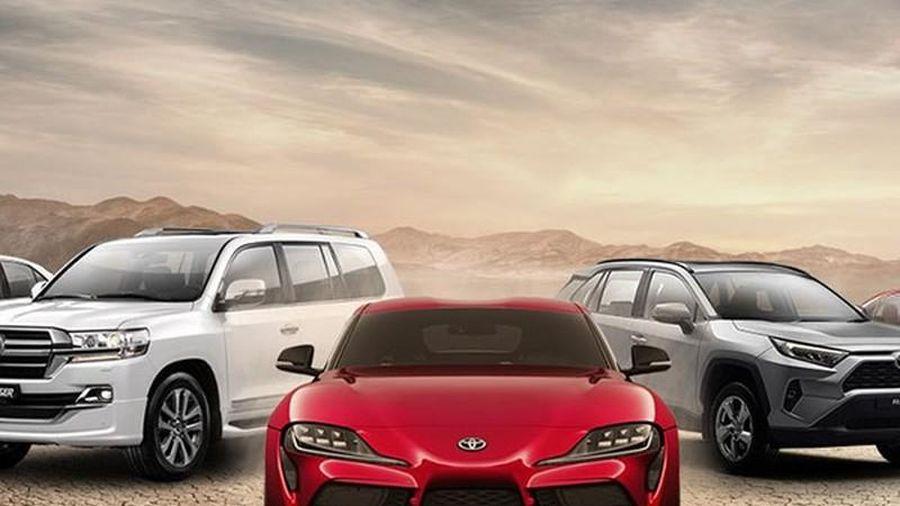 Toyota là thương hiệu ôtô được tìm kiếm nhiều nhất năm 2020