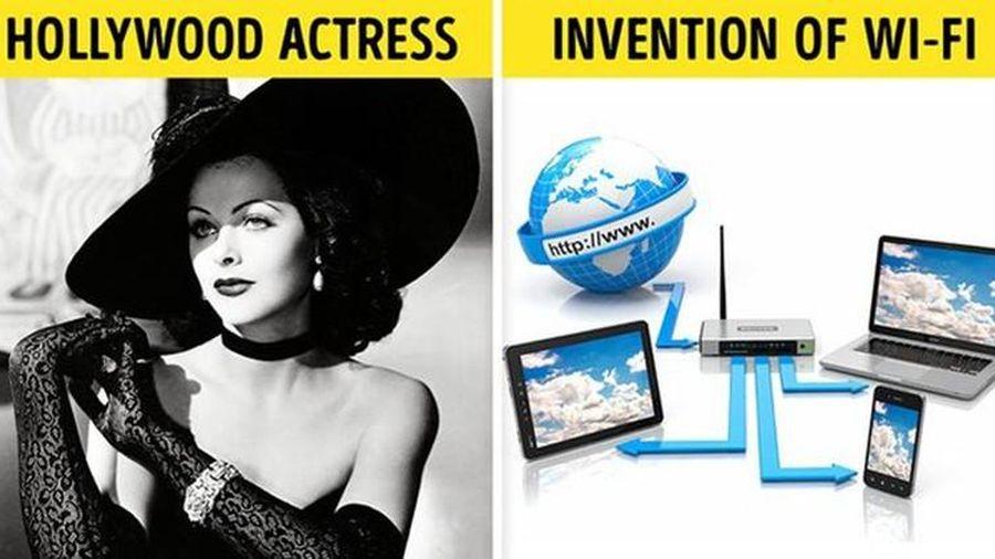 Nữ diễn viên nổi tiếng Hollywood phát minh ra wifi và bluetooth