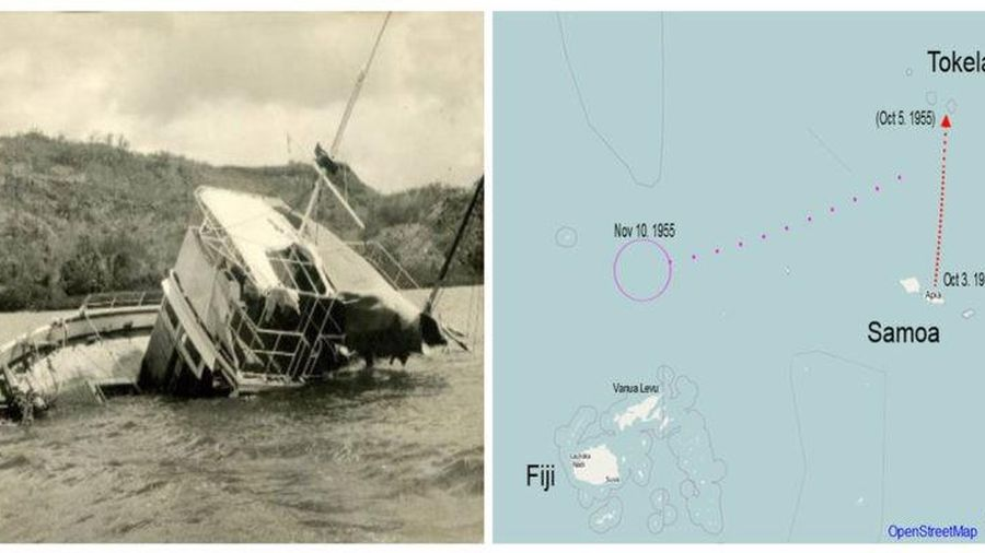 Bí ẩn 25 thủy thủ biến mất trên biển năm 1955