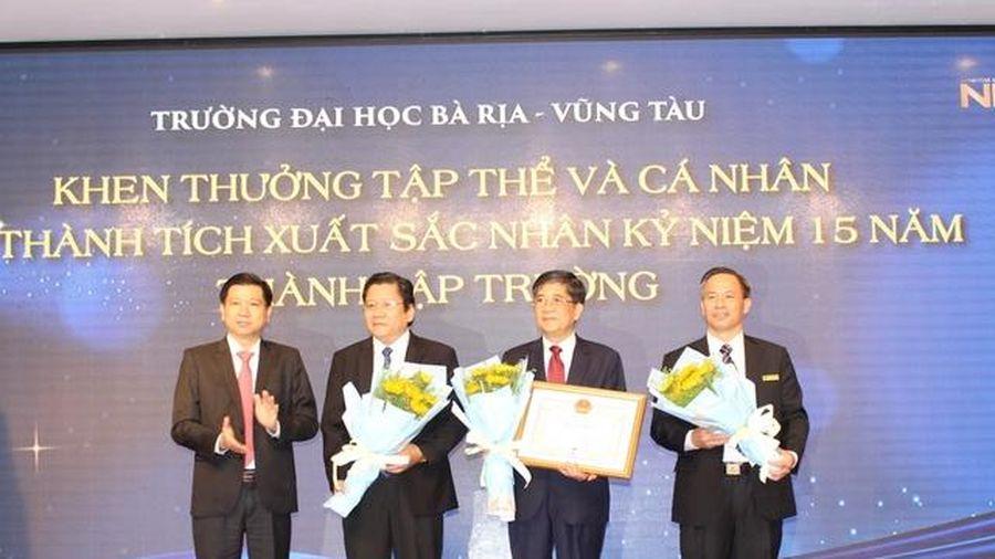 Trường ĐH Bà Rịa - Vũng Tàu kỷ niệm 15 năm thành lập