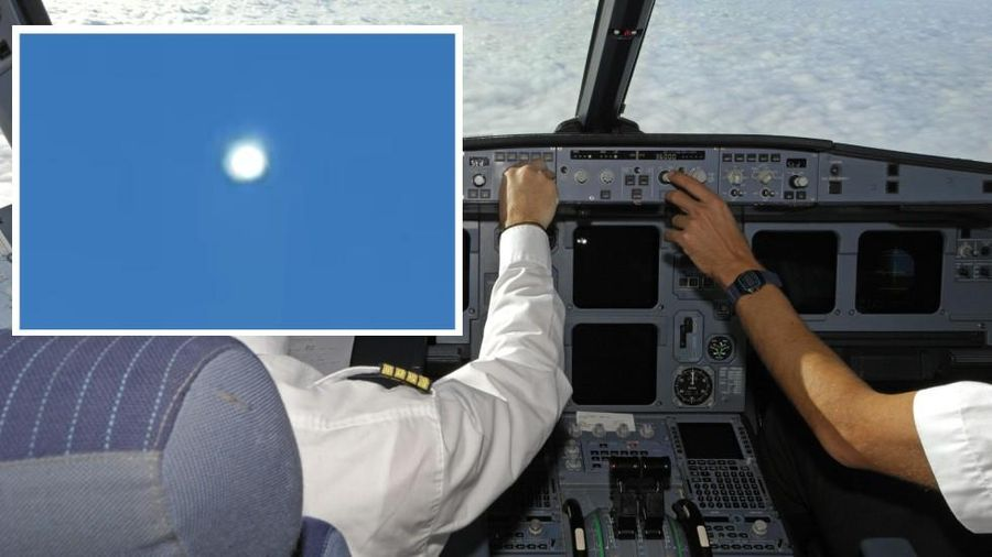 Phi công ghi lại cảnh chạm trán UFO ở độ cao 10.000m giữa ban ngày