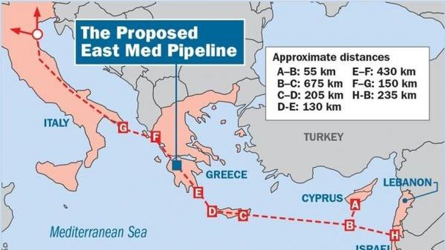 Châu Âu đứng trước nguy cơ mất một nguồn cung khí đốt từ Địa Trung Hải