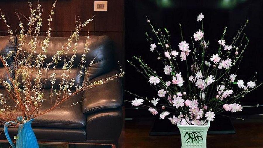 Những mẫu cắm hoa đẹp ngày Tết