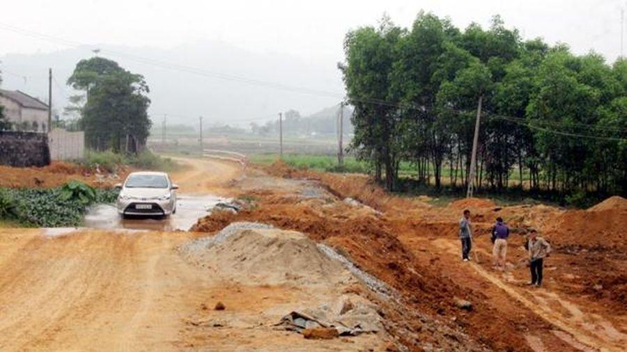 Cần đẩy nhanh tiến độ các dự án trọng điểm tại Hương Sơn