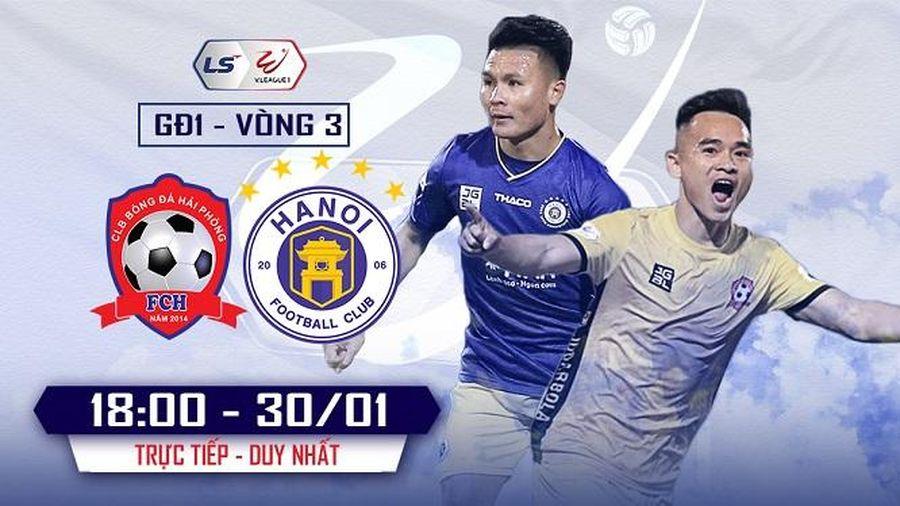Hà Nội FC vs. Hải Phòng: Trận cầu tâm điểm vòng 3 V. League 2021