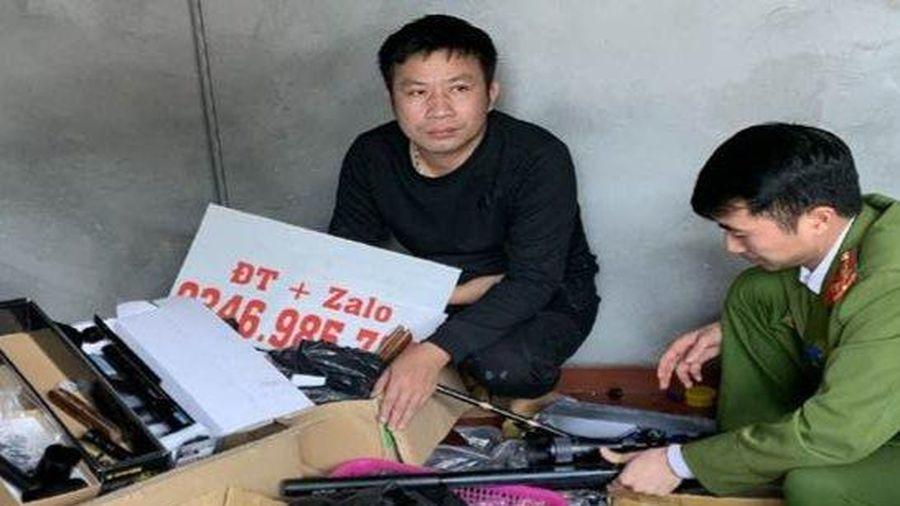Bắc Giang: Đối tượng tàng trữ hàng nghìn linh kiện súng và đạn vừa bị bắt