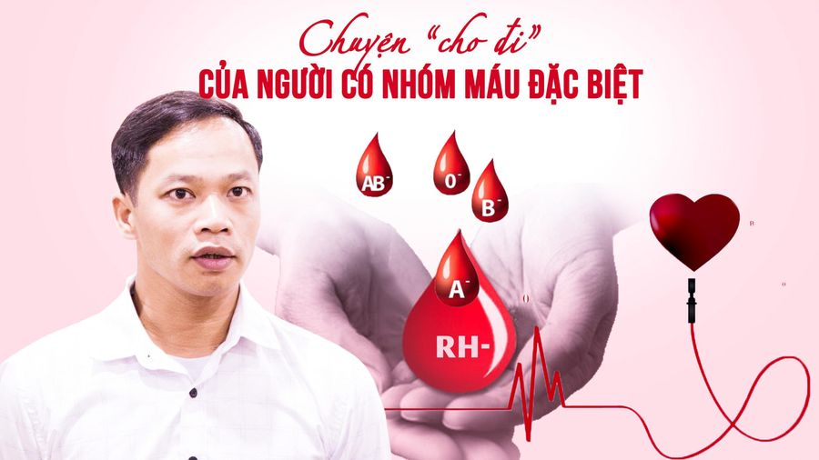 Chuyện 'cho đi' của người có nhóm máu đặc biệt