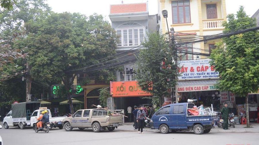 TP Thanh Hóa tăng cường đảm bảo trật tự đô thị trong dịp Tết nguyên đán Tân Sửu 2021
