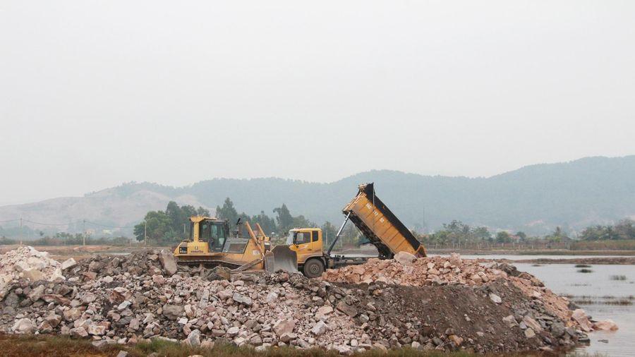 Đẩy nhanh GPMB Khu công nghiệp Sông Khoai