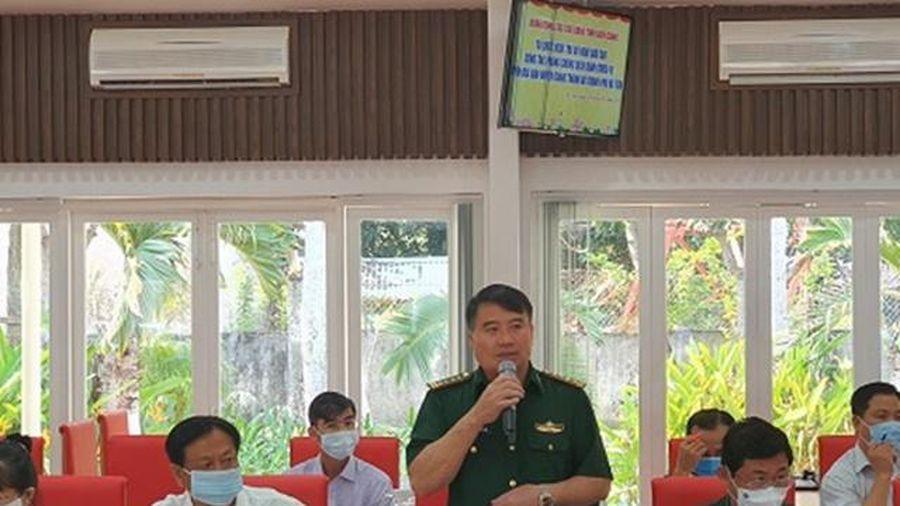 Kiên Giang duy trì hoạt động các chốt phòng, chống dịch khu vực biên giới