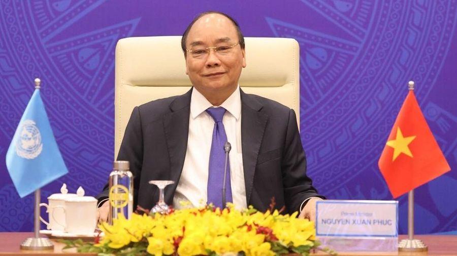 Thủ tướng Nguyễn Xuân Phúc tham dự phiên Thảo luận mở Cấp cao trực tuyến của Hội đồng Bảo an