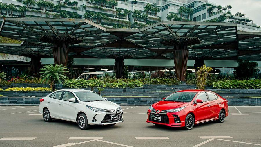 Toyota Vios 2021 chính thức ra mắt, giá cao nhất 638 triệu đồng