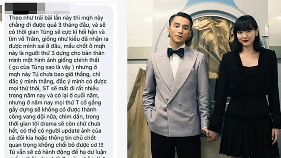 'Lời tiên tri' đúng đến 80% hiện tại về drama Sơn Tùng - Thiều Bảo Trâm - Hải Tú
