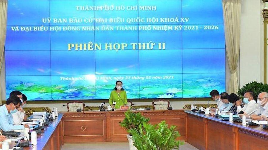 Thành phố Hồ Chí Minh xác định xong số lượng đơn vị bầu cử đại biểu Quốc hội và HĐND