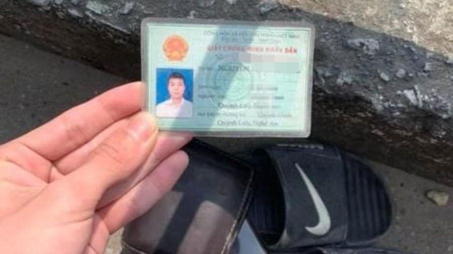 Cảnh sát tìm kiếm người đàn ông nghi nhảy xuống sông Lam