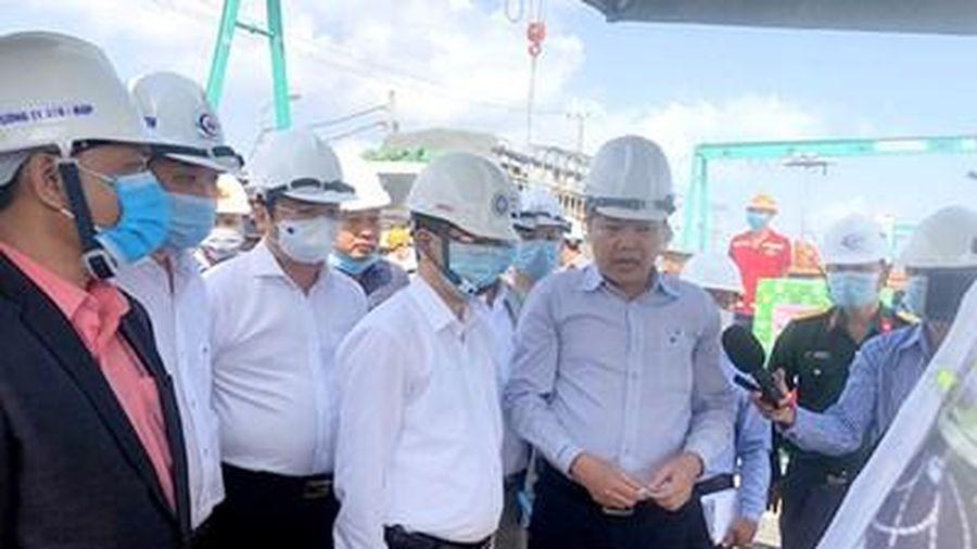 Đà Nẵng sẽ xử lý việc chậm tiến độ nút giao thông phía tây cầu Trần Thị Lý