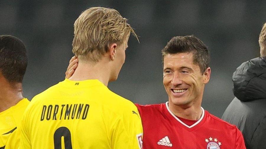 Haaland khó đến Bayern nếu Lewandowski còn thi đấu