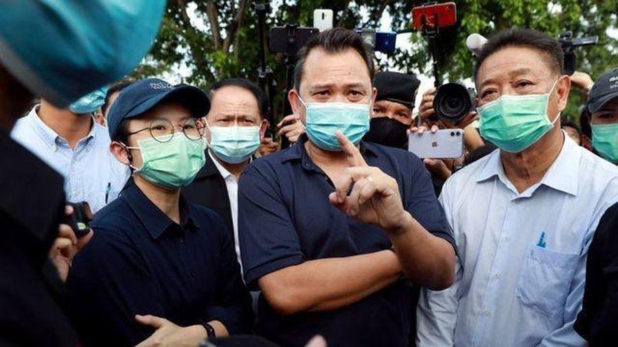 Ba bộ trưởng Thái Lan bị phạt tù vì tội nổi loạn
