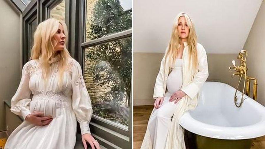 Ellie Goulding lần đầu xuất hiện sau khi thông báo có thai