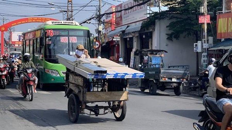 TP Hồ Chí Minh: Đề xuất 'khai tử' xe thô sơ vào nội đô sau năm 2025