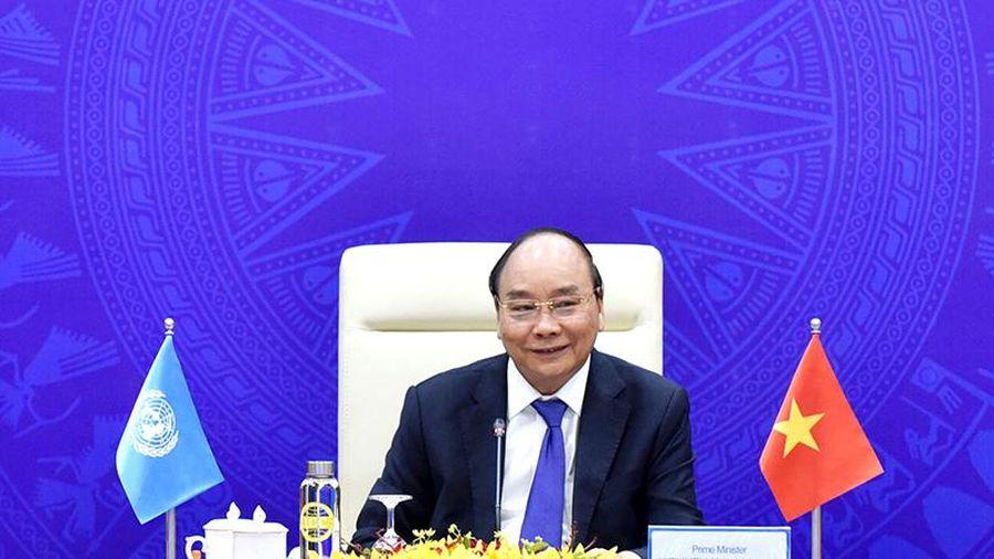 Thủ tướng Nguyễn Xuân Phúc tham dự phiên Thảo luận mở cấp cao trực tuyến của Hội đồng Bảo an Liên hợp quốc